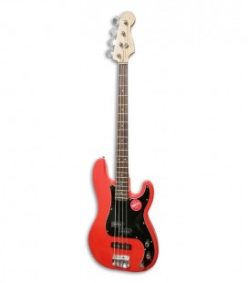 Guitarra Baixo Fender Squier Affinity Precision Bass PJ LRL RCR
