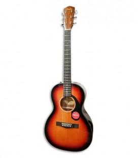 Guitarra Acústica Fender CP-60S Parlor 3T Sunburst