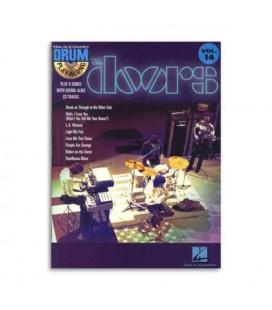 Livro Music Sales HL00699887 Drum Play Along The Doors Book CD