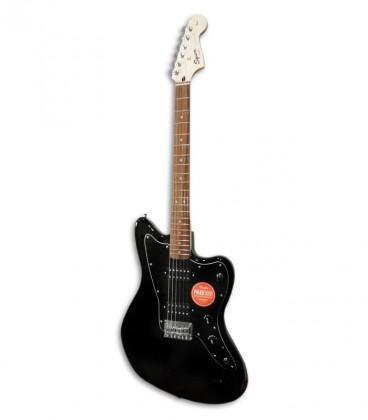 Foto da guitarra Squier Affinity Jazzmaster Black