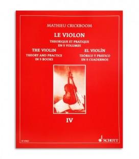 Mathieu Crickboom para Violino Te坦rico e Pr叩tico Vol 4