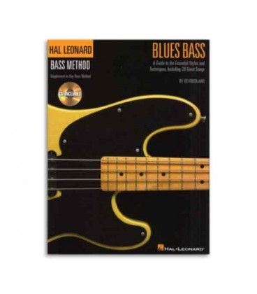 Blues Bass Method Book and CD