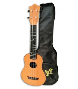 Ukulele Mahilele ML3 ORG Soprano Orange com Saco