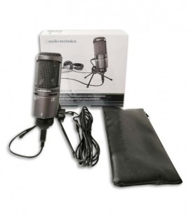 Microfone Audio Technica AT2020 Consedador com USB