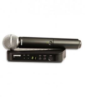 Sistema Microfone Emissor Receptor Completo Shure BLX24E SM58 H8E