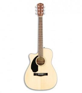Guitarra Eletroac炭stica Fender Concert CC 60SCE Esquerdino Natural