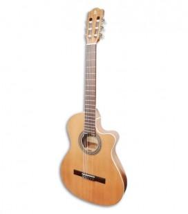 Foto a 3/4 da guitarra clássica Alhambra Z Nature Thinline CT EZ