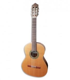Paco Castillo 201 Guitarra Clássica Mate Cedro Sapelly
