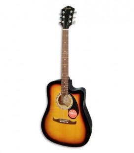 Guitarra Folk Fender FA 125CE Sunburst