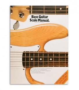 Foto capa do livro bass guitar scale manual com a referência AM14196