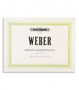 Foto da capa do livro Weber Composições Originais Op 3 10 60 com a referência EP189a