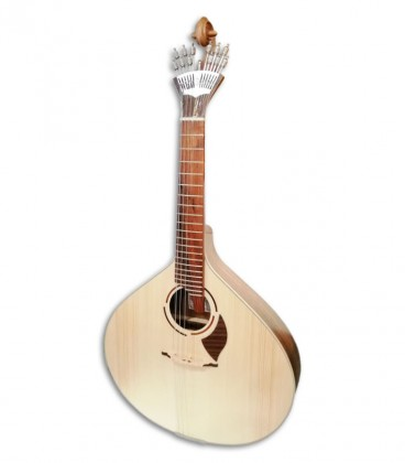 Foto da guitarra portuguesa APC modelo 308LS Lisboa de frente e em tr棚s quartos