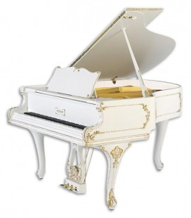 Piano de Cauda Petrof P173 Breeze Rococo Style Collection