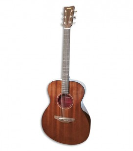 Foto da Guitarra Folk Yamaha modelo Storia III cor Chocolate Brown de frente e tr棚s quartos