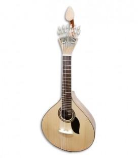 Foto da Guitarra Portuguesa Artimúsica modelo GP70CCAD Simples modelo Coimbra tamanho 3/4 de frente e em três quartos