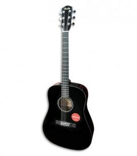 Guitarra Acústica Fender CD 60 Dread V3 DS Black Walnut