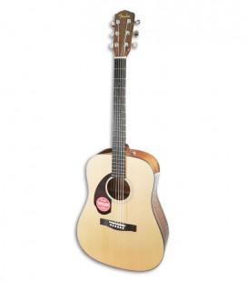 Guitarra Folk Fender Dreadnought CD 60S LH Natural WN