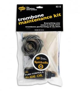 Foto do Kit de Manutenção Dunlop Hercos modelo HE110 para Trompa