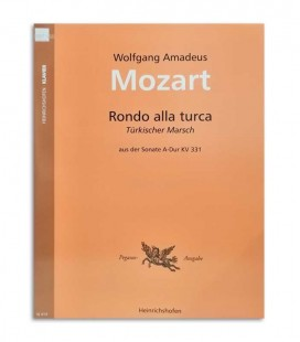 Foto da capa do Livro Mozart Marcha Turca N414
