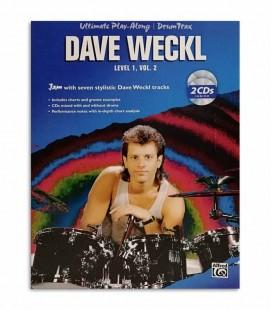Foto da capa do livro de Dave Weckl Ultimate Play Along Level 1 Vol 2 IMP4148A