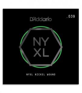 Corda DAddario NYNW039 Guitarra El辿trica ou ac炭stica Nickel Wound