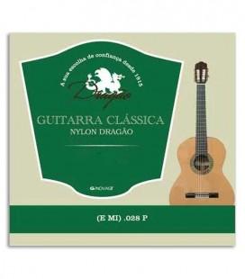 Foto da capa da Corda Dragão 825 Viola Nylon 028 Mi Agudo
