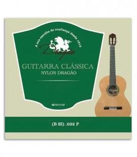 Foto da capa da embalagem da Corda Dragão 831 para Viola Nylon 032 2ª Si