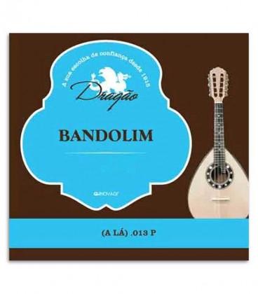 Foto da capa da embalagem da Corda Drag達o 801 para Bandolim 2捉 L叩