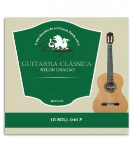 Corda Dragão 828 para Viola Nylon 040 3ª Sol