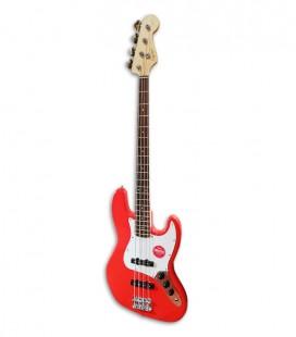Foto da Guitarra Baixo Fender Squier Affinity Jazz Bass LRL RCR