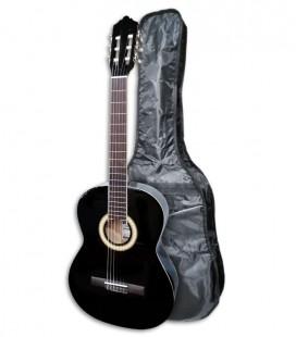 Foto da Guitarra Clássica Ashton SPCG-44BK com saco