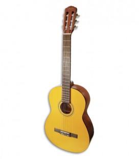 Foto da Guitarra Cl叩ssica Fender modelo ESC110 Educacional 4/4 Wide Neck de frente