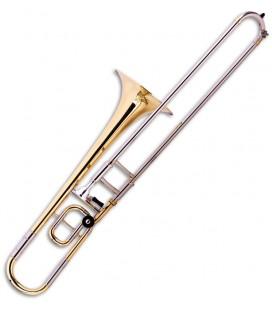 Foto do Trombone de Varas John Packer JP138 Dourado Si Bemol/Dó Vara Curta com Estojo