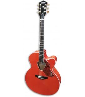 Foto da Guitarra Eletroac炭stica Gretsch G5022CE Rancher Jumbo Savannah Sunset
