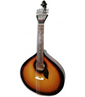 Guitarra Portuguesa Artim炭sica GPSBL Modelo Lisboa Sunburst Base Tampo T鱈lia Fundo Ac叩cia