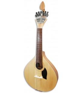 Foto da Guitarra Portuguesa Artim炭sica GPBASECCAD Modelo Coimbra