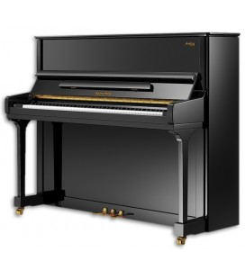 Piano Vertical Kayserburg  KAM2 Preto Polido 3 Pedais