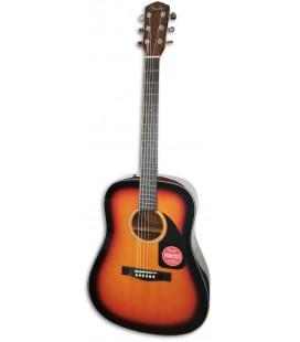 Guitarra Ac炭stica Fender Dreadnought CD 60 V3 DS Sunburst Walnut