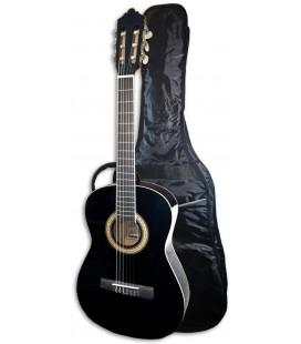 Foto da Guitarra Clássica Ashton modelo SPCG-34BK com o saco