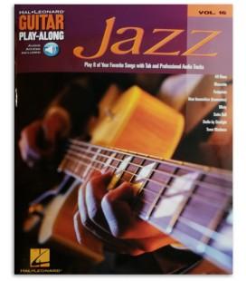 Foto da capa do livro Jazz for Guitar Play Along 16