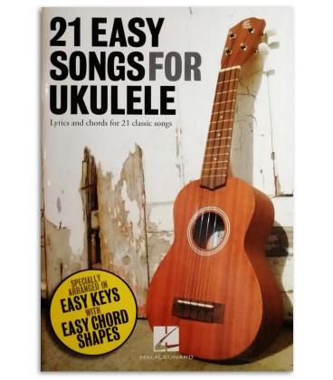 Foto da capa do Livro 21 Easy Songs for Ukulele
