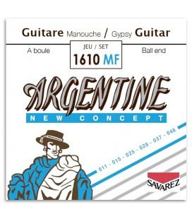 Fotoda capa da embalagem do Jogo de Cordas Savarez modelo Argentine 1610MF