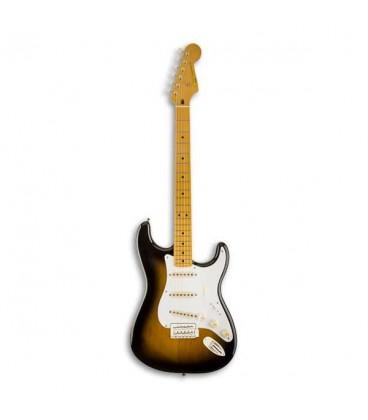 Foto da guitarra Squier Classic Vibe Strat 50S Sunburst