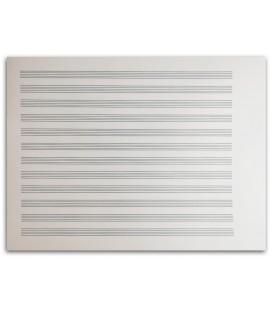 Caderno de Papel de M炭sica Artcarmo 12P Baixo