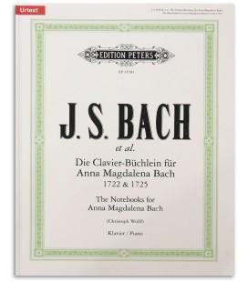 Bloco Notas Anna Magdalena Bach Edition Peters