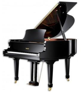 Piano de Cauda Ritm端ller RS160 Superior Line Grand 3 Pedais Preto Polido
