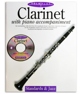 Solo Plus Standards & Jazz Clarinet Livro/CD