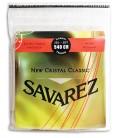 Jogo de Cordas Savarez 540 CR Guitarra Cl叩ssica New Crystal Classic