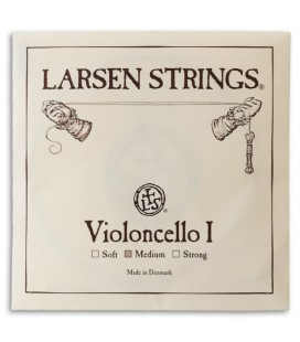 Corda Individual Larsen 1捉 L叩 Violoncelo 4/4 M辿dia