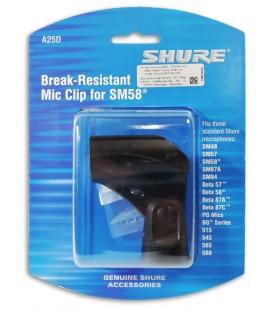 Pin巽a Shure A25D para Microfone